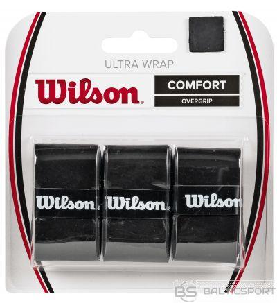 Wilson ULTRA WRAP OVERGRIP melns 3gb./iep.
