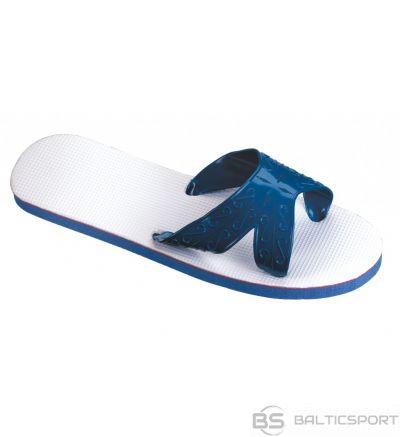 Slippers unisex BECO 9212 size 46/47 white/blue