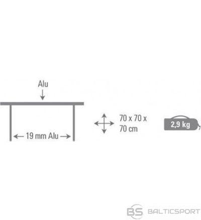 High Peak Camping Folding Table Sevilla saliekams alumīnija galds (44180)