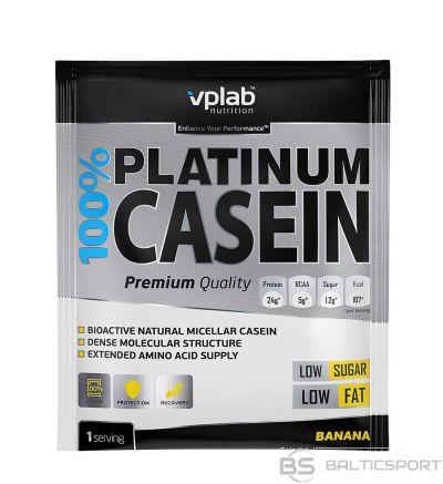 VPLab 100% Platinum Casein 30 g - Banānu / 30 g / 1 porcija