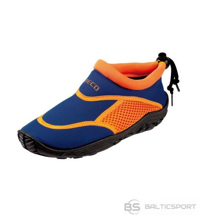 Aqua shoes for kids BECO 92171 63 size 28 blue/orange