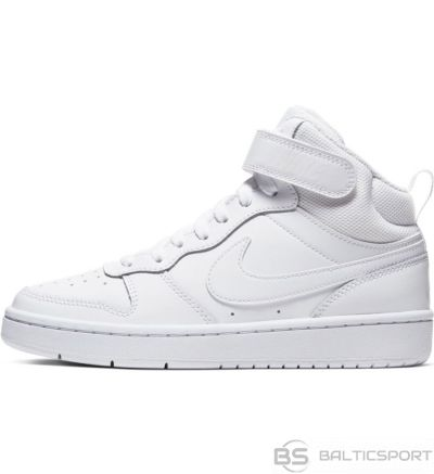 Nike Court Borough Mid 2 CD7782 100 kurpe / Balta / 36 1/2