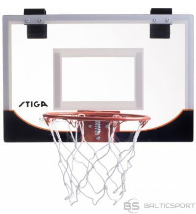 STIGA Mini basketbola grozs 18'', bask. bumba 13 cm komplekts