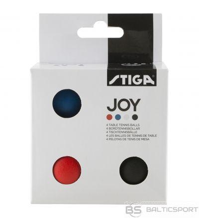 Stiga Galda tenisa bumbiņas JOY, 4gb.iep.