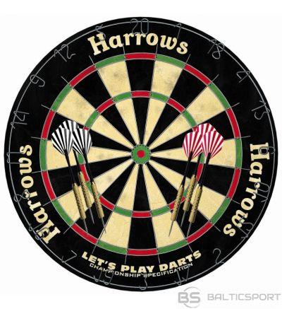 Dartboard HARROWS LET'S PLAY DARTS GAME SET
