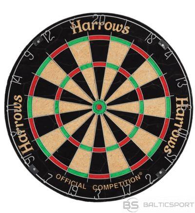Šautriņu dēlis HARROWS OFFICIAL COMPETITION BRISTLE EA326 RoundWire