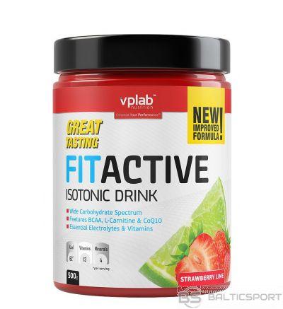 VPLab FITACTIVE Isotonic Drink - Zemeņu-laima / 500 g
