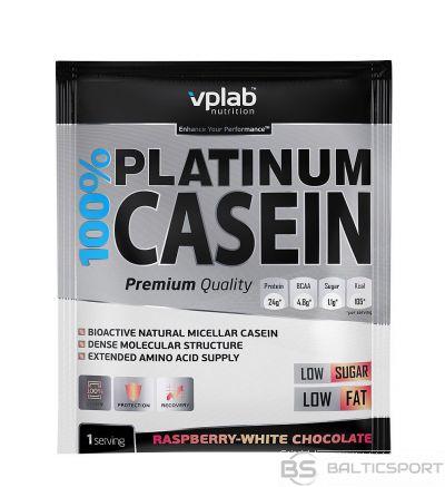 VPLab 100% Platinum Casein 30 g - Aveņu-baltās šokolādes / 30 g / 1 porcija
