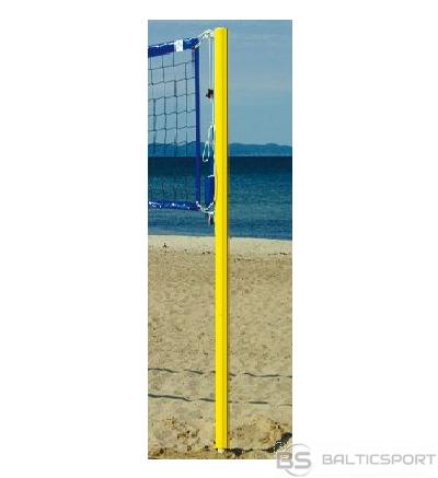 Pludmales volejbola statīvi - dzelteni
