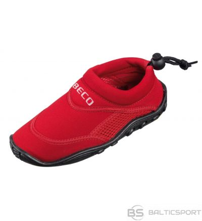 Aqua shoes unisex BECO 9217 5 size 39 red