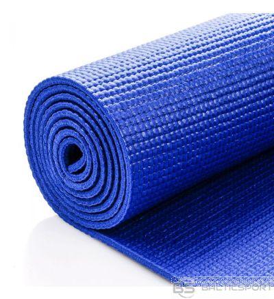 Meteor Yoga mat  jogas paklājs - 180x60x0,5cm - zila