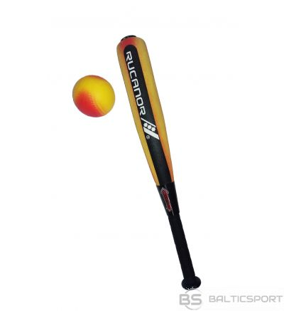 Rucanor Baseball kids set: ball, bat 01 orange