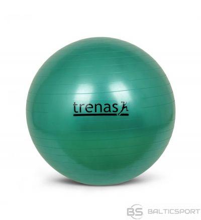 Fitnesa bumba / vingrošanas bumba 65cm, zaļa