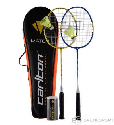Badminton set Carlton MATCH 100 2rackets+3shuttlecocks+bag
