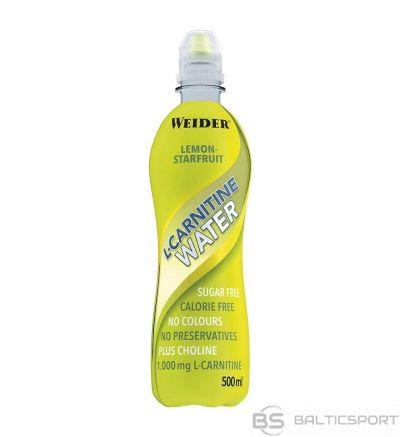 Weider L-Carnitine Water 500 ml - Citronu / 500 ml
