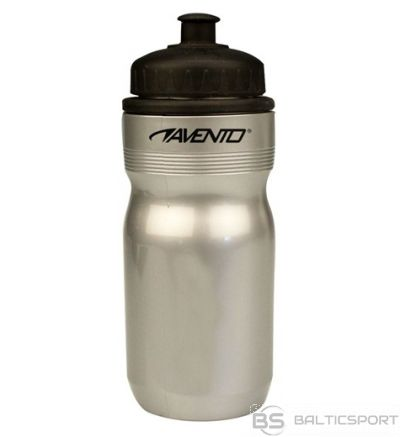 Schreuderssport Sports Bottle AVENTO 500ml 21WB Silver grey/Black