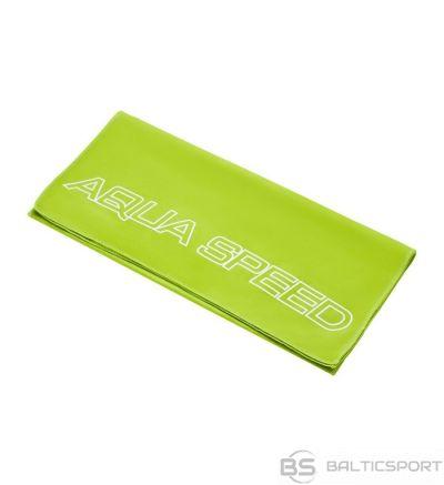 Aqua-speed Mikrošķiedras DRY FLAT dvielis / Zaļa / 100x50 cm