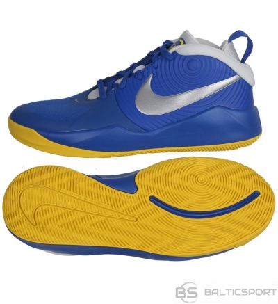 Nike Team Hustle D 9 (GS) AQ4224 404/39 / Zila kurpes