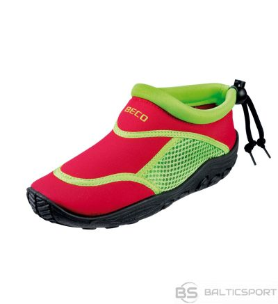 Aqua shoes for kids BECO 92171 58 size 34 red/green