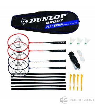 Badminton set DUNLOP SMASH for 4 players