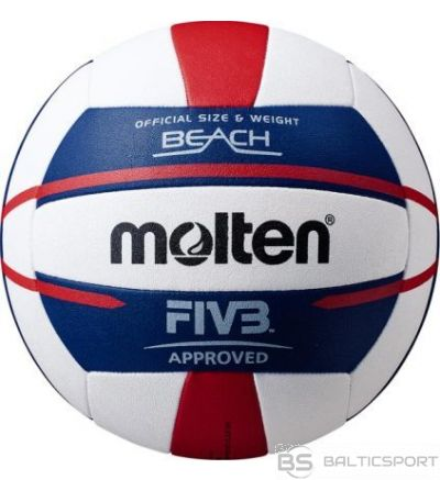 Beach volleyball MOLTEN V5B500 FIVB for competition synth. leather