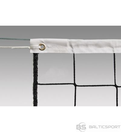 Volleyball net POKORNYSITE ECONOM PP-9,5x1m 100x100x2,5mm, galvanized cable,