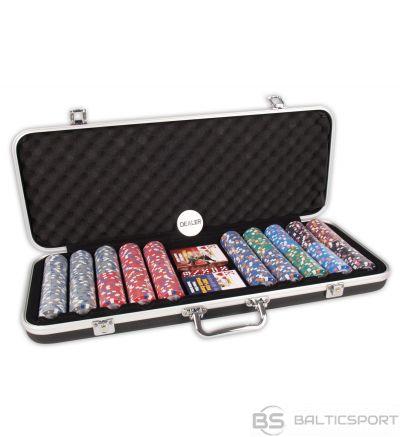 Pokera komplekts DLX 500 Clay