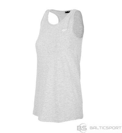 T-krekls 4F H4L20-TSD004 25S / Pelēka / XS