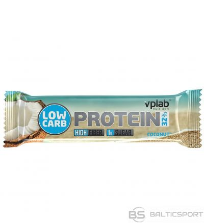 VPLab Low Carb Protein Bar 35 g - Kokosriekstu / 35 g