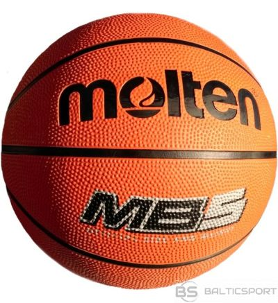 Basketbola bumba MOLTEN MB5 for training, rubber
