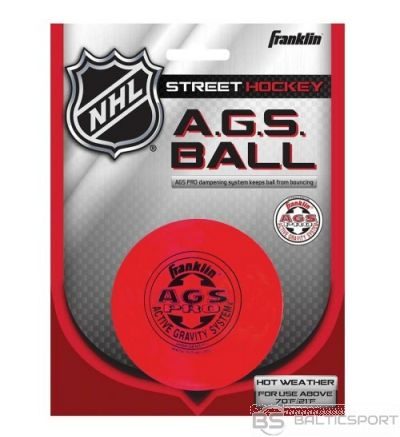 Franklin A.G.S. Streethockey Ball hokeja spēlētāja ielas bumbiņa (12219)