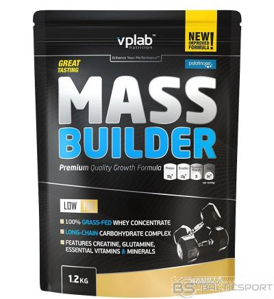 VPLab Mass Builder 1.2 kg - Vaniļas / 1,2 kg