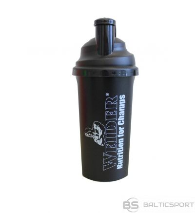 Weider Šeikers 700 ml - Melna