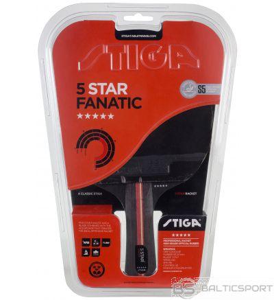 Stiga Fanatic 5* (concave) galda tenisa rakete