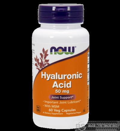 Now Foods Hyaluronic Acid + MSM