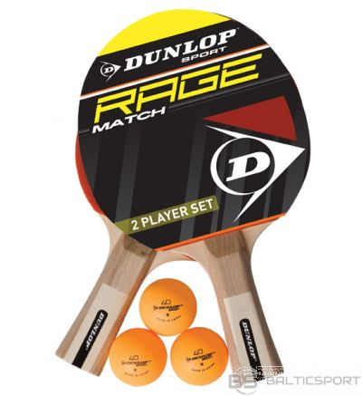 Table tennis set DUNLOP RAGE MATCH for 2 players