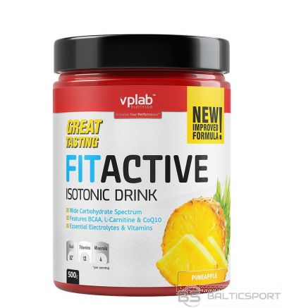 VPLab FITACTIVE Isotonic Drink - Ananāsu / 500 g