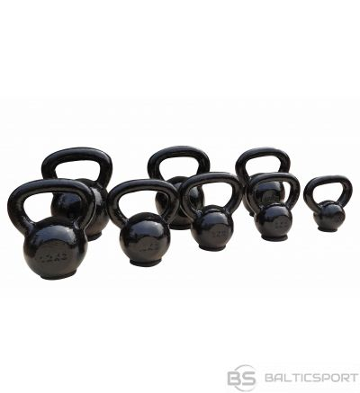 Toorx Kettlebell cast iron with rubber base 10kg