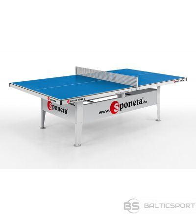 Tennis table outdoor 10mm SPONETA S 6-67e blue with net