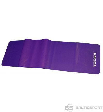 Toorx Latex free elastic band AHF008 Strong 150x15cm 0,35mm purple