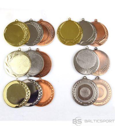 Tryumf Medaļa uz 50 mm uzlīmes / īpaši liela / zelts / sudrabs / bronza