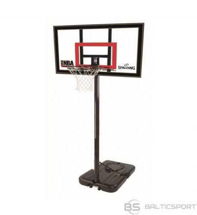 Spalding Basketbola, strītbola groza konstrukcija NBA HIGHLIGHT ACRYLIC PORTABLE