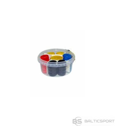 Novusa kauliņu komplekts - 32gab ( zils, sarkans, dzeltens, melns)