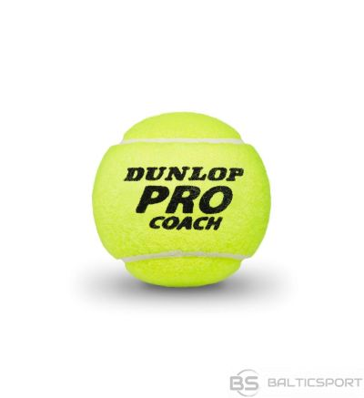 Tennis balls Dunlop PRO COACH 4-tube