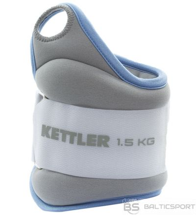 Wrist weights KETTLER 7361-420 2x1,5kg l.blue/grey