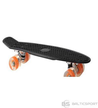 Skrituļdēlis - penny board - Shark melns