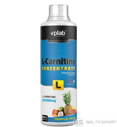 VPLab L-Carnitine Concentrate 500 ml - Tropiskā / 500 ml