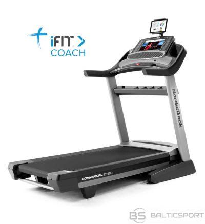 Skrejceliņš Nordic Track Treadmill NORDICTRACK COMMERCIAL 2450 + iFit 1 year membership free