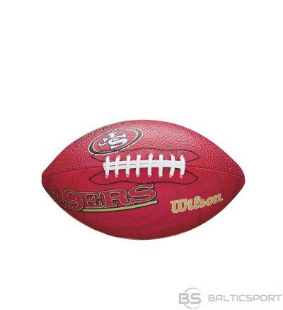 WILSON amerikāņu futbola NFL TEAM LOGO SAN FRANCISCO 49ERS  Junior