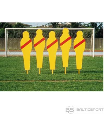 Futbola soda sitienu manekenu sieniņa